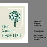 RHS Garden Hyde Hall - practical solutions