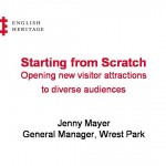 Starting from Scratch - opening new sites to diverse audiences