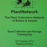 Seed Collection & Storage resources