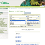 CBD Database on ABS Measures