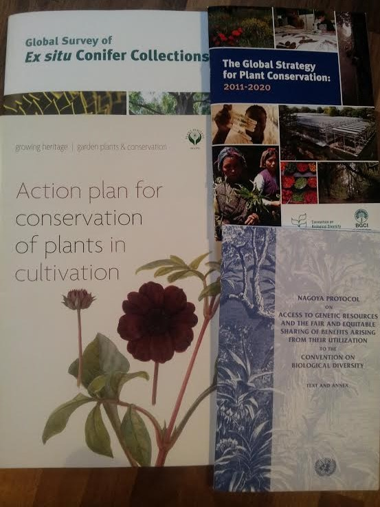Booking opens for Plant Collections Management; keeping it legal, ethical and relevant