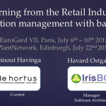 Learning from the retail industry – collection management with barcodes