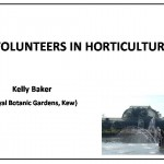 Volunteering in horticulture in the UK and USA